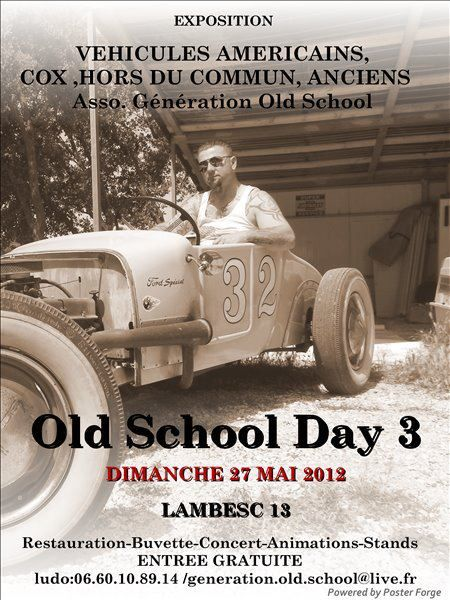 OLD SCHOOL DAY 3  27-FRANCE-MAY